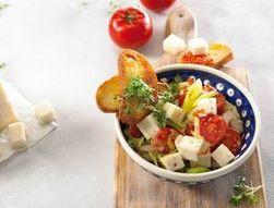 Prei-linzen salade