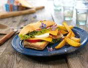 Traditionelles Sandwich