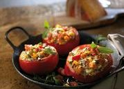 Stuffed chili tomatoes